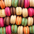 Colorful macaroons background — Stock Photo #12374526