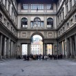 Uffizi gallery in Florence, Italy — Stock Photo #12374537