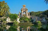 Fountain in a Parc de la Ciutadella, Barcelona — Stock Photo