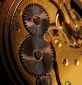 Close-up of a gears — Stock Photo