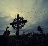 La colina de las cruces — Foto de Stock