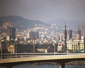 Barcelona stadsutsikt. — Stockfoto
