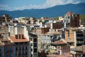 Beautiful view to Gerona city, Spain — Stock Photo