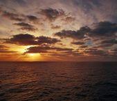 Ocean evening view. — Stock Photo