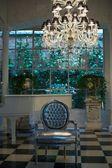 Contemporary luxury interior — Stock Photo