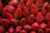 Fresh strawberry background — Stock Photo
