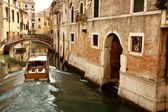 Boottocht in venetië — Stockfoto