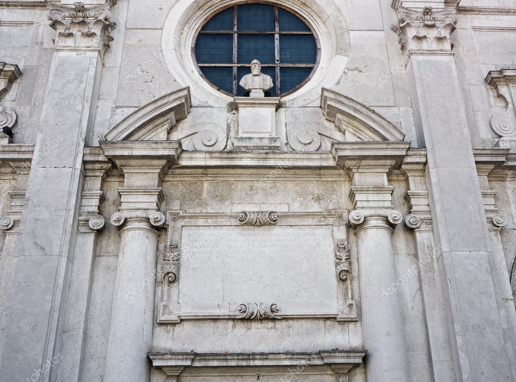 Architecture details in Venice — Stock Photo #12374472