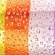 Multi-coloured striped drops — Stock Photo #10764066