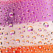 Multi-coloured striped drops — Stock Photo #10764068