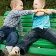 Royalty-Free Stock Photo: Boys are fighting