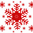 Royalty-Free Stock Photo: Collage of snowflakes
