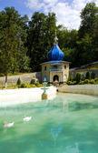 Monastery Tsyganeshty Moldova — Stock Photo