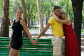 Marital infidelity — Stock Photo