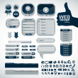 Elements for web design - Stockvectorbeeld