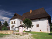Rare manor house in Pribylina — Stock Photo