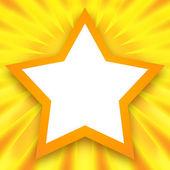 Marco de estrellas — Foto de Stock