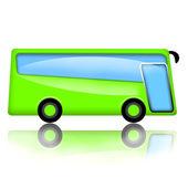 Green Bus — Stock Photo