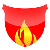Fire Shield — Stock Photo