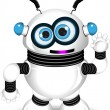 Stock Vector: Funny robot
