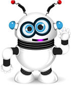 Funny robot — Stock Vector