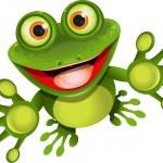 Happy frog — Stock Vector #11397156