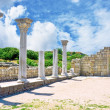 Stock Photo: Ruins of an Ancient Greek temple