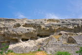 Antik spelaean şehir — Stok fotoğraf