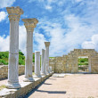 Ruins of Ancient Greek temple — Foto de stock #11872457