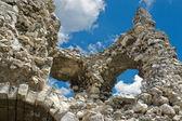 Kale kalıntıları — Stok fotoğraf