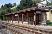 Miramare railroad station — Stock Photo