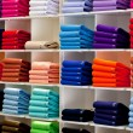 Polo shirts, clothes shop — Stock Photo #10921122