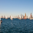 Stock Photo: Trieste, Barcolan2009 - Trieste regatta