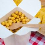 Cheese Puff Balls — Stock Photo