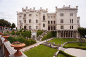 Miramare castle, Trieste — Stock Photo