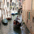 Gondolier in Venice — Stock Photo #12034212