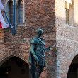 Stock Photo: RomEmperor's statue, Cividale del Friuli