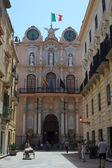 Calle trapani, sicilia - italia — Foto de Stock