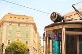 Трамвай, Триест Опичина — Стоковое фото
