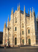 Duomo di milano - Milan cathedral — Stock Photo