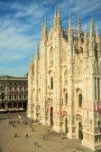 Duomo di milano - Milan cathedral — Stock Photo