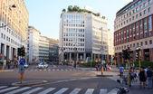 St. Babila square, Milan — Stock Photo