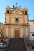 Annunziata-kirche in leonforte — Stockfoto