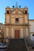 Annunziata kyrka i leonforte — Stockfoto