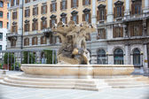 Vittorio Veneto square, Trieste — Stock Photo