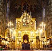 Pravoslavná církev st. spyridon, Terst — Stock fotografie