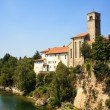Stock Photo: St. Pietro and St.Biagio church, Cividale del Friuli - Italy