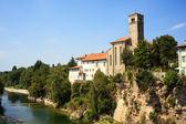 St. Pietro and St.Biagio church, Cividale del Friuli - Italy — Stock Photo