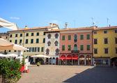 Paolo Diacono Square, Cividale del friuli, Italy — Stock Photo