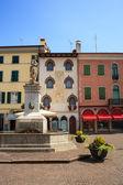 Paolo diacono carré, cividale del friuli, italie — Photo